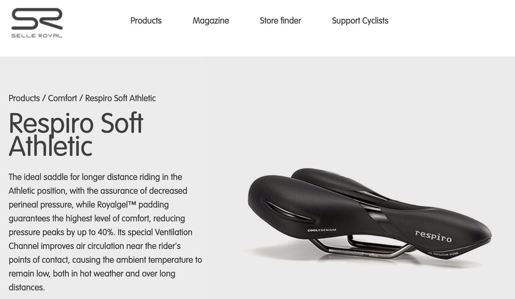Saddles for electric bikes
