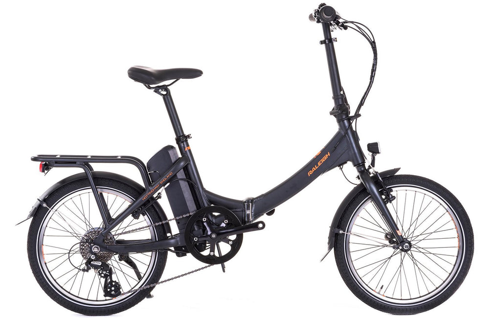 Raleigh electric Stoweway bike in The Guardian