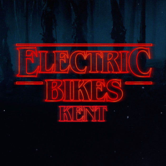 A bit of Stranger Electric Bikes Things fun