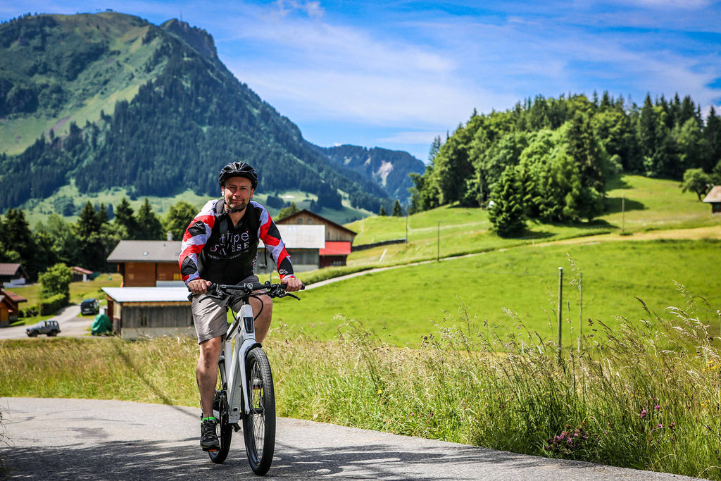 Luxury electric bike rides in Switzerland