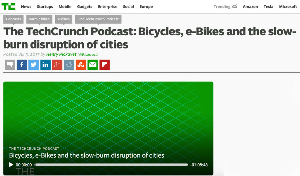 Podcast for electric bikes