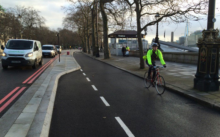 The London cycle superhighways are proving popular