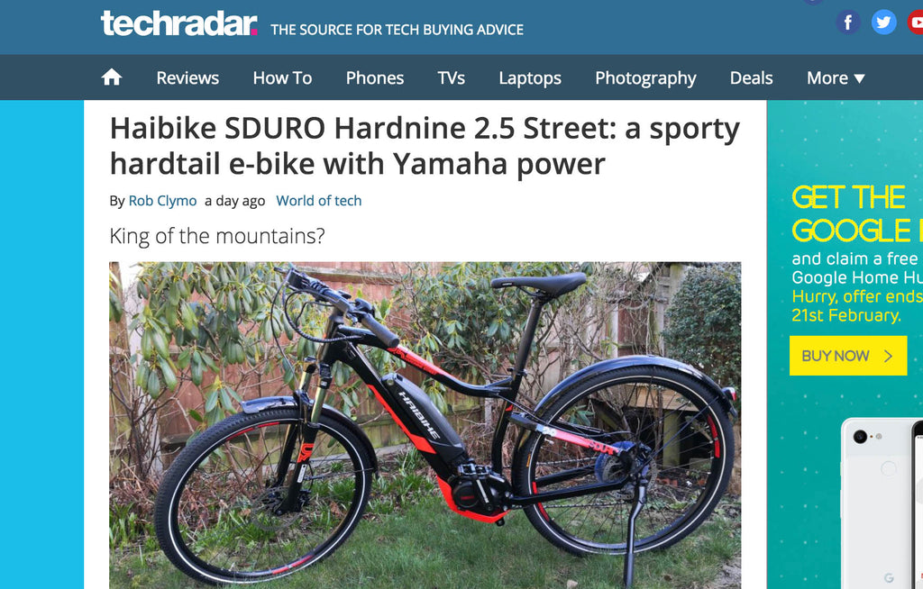 Sporty Yamaha Haibike power