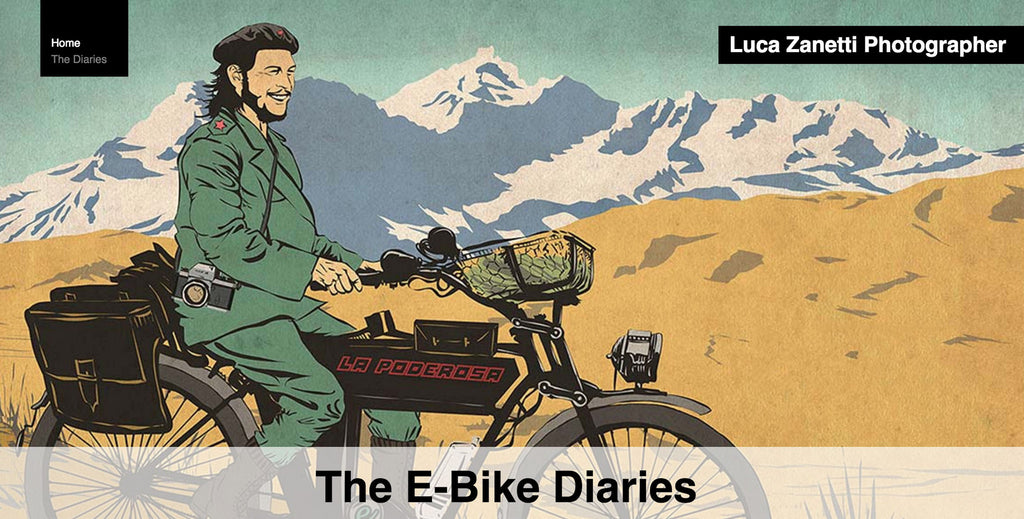 Photographer completes 'E-bike diaries' adventure