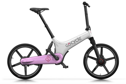 Gocycle GS White Pink