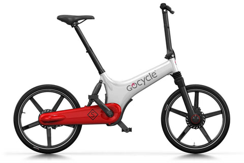 Gocycle GS White Red