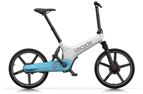 Gocycle GS White Light Blue