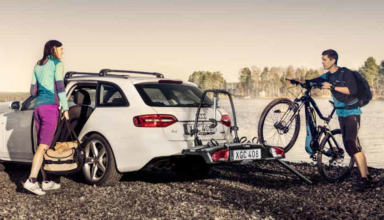 thule towbar electric bike carrier