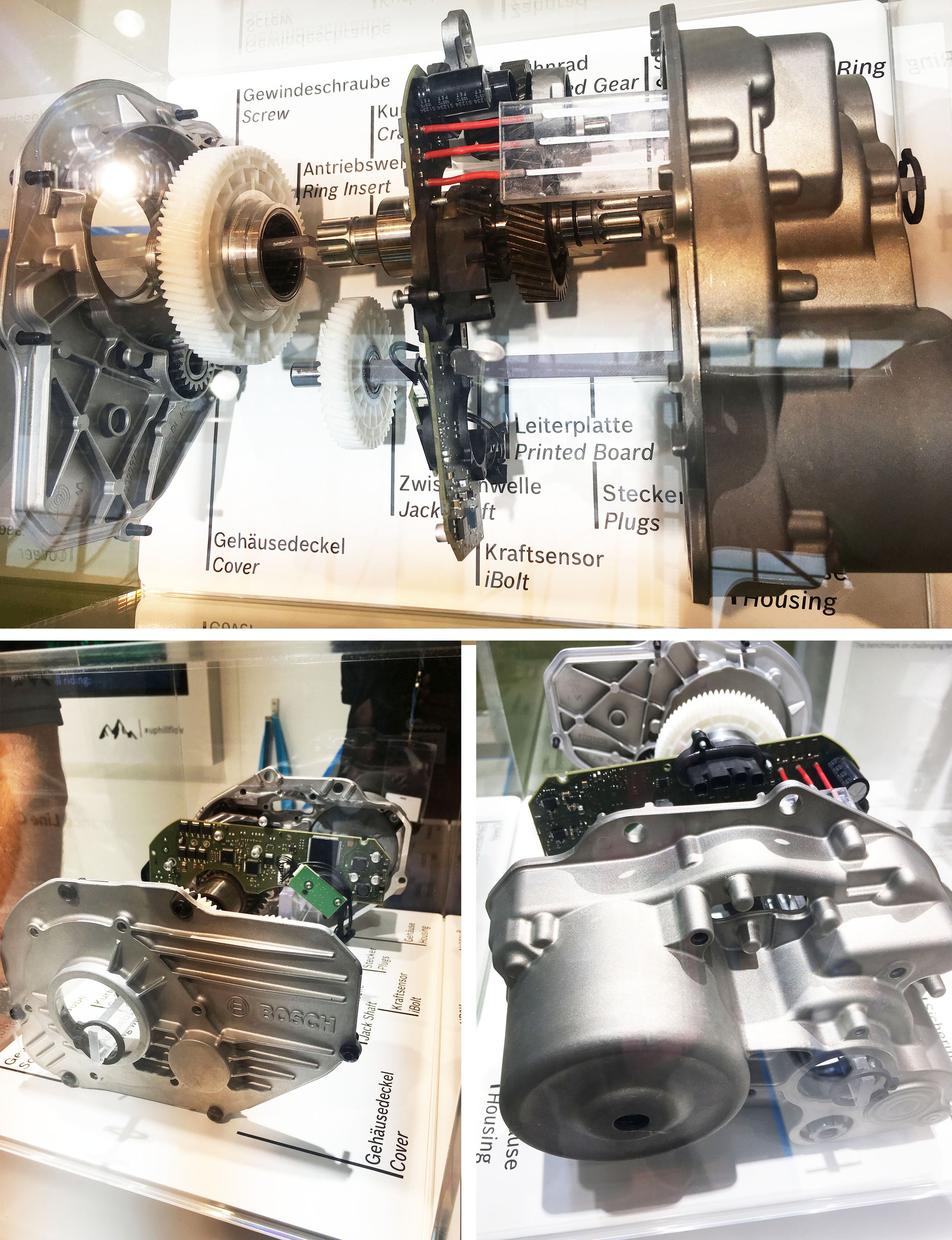 bosch motor dissected cycle show