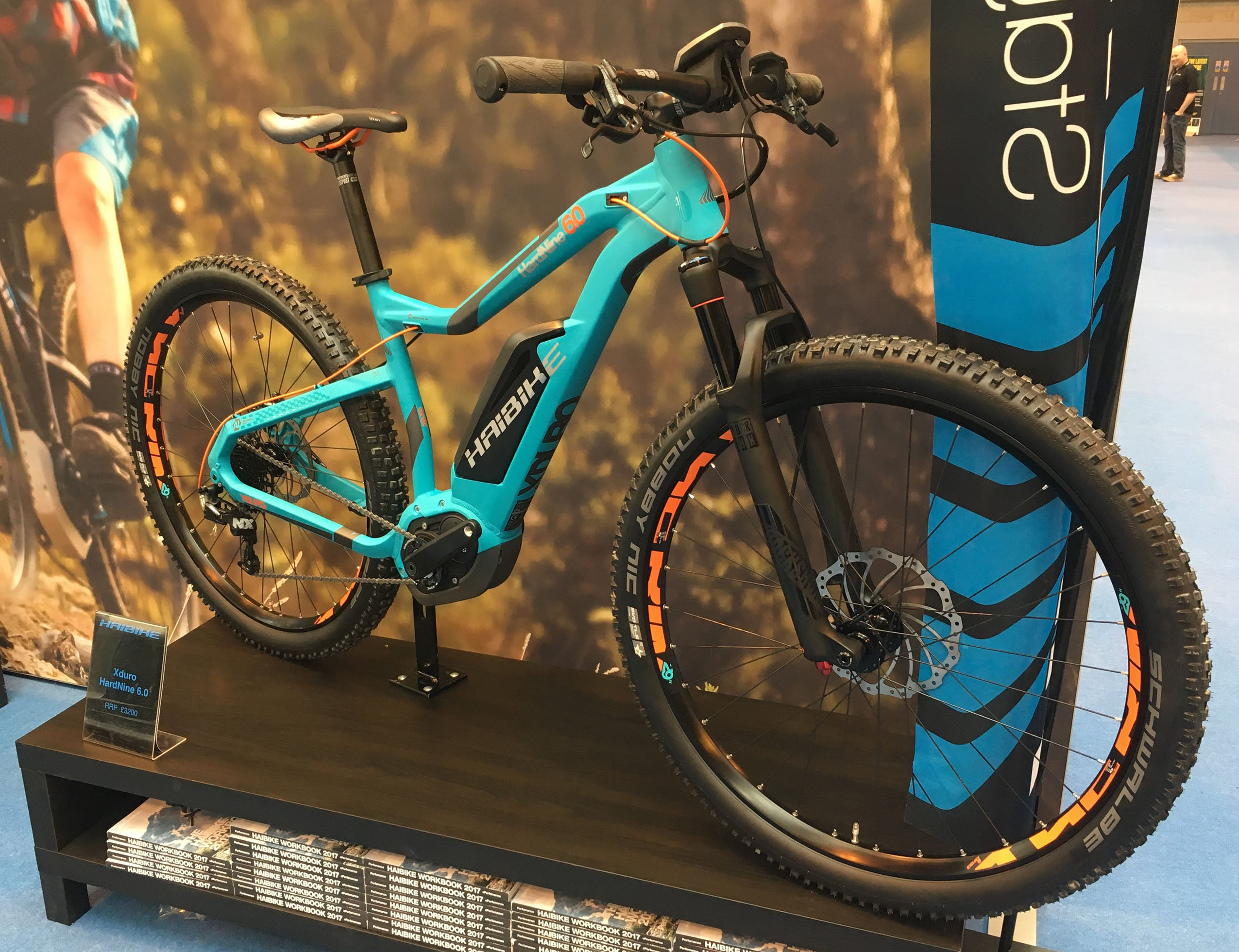 haibike 2017 electric bike cycle show