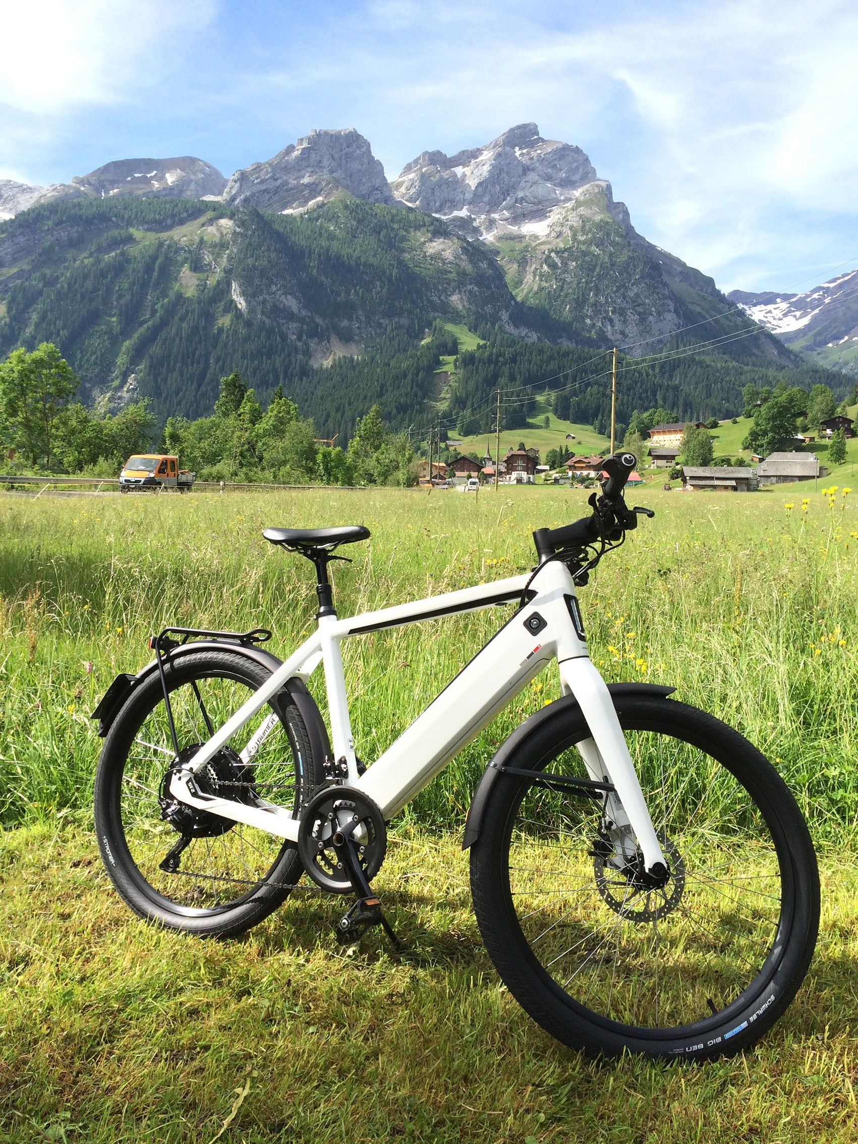 gstaad etape suisse electric bike alps switzerland