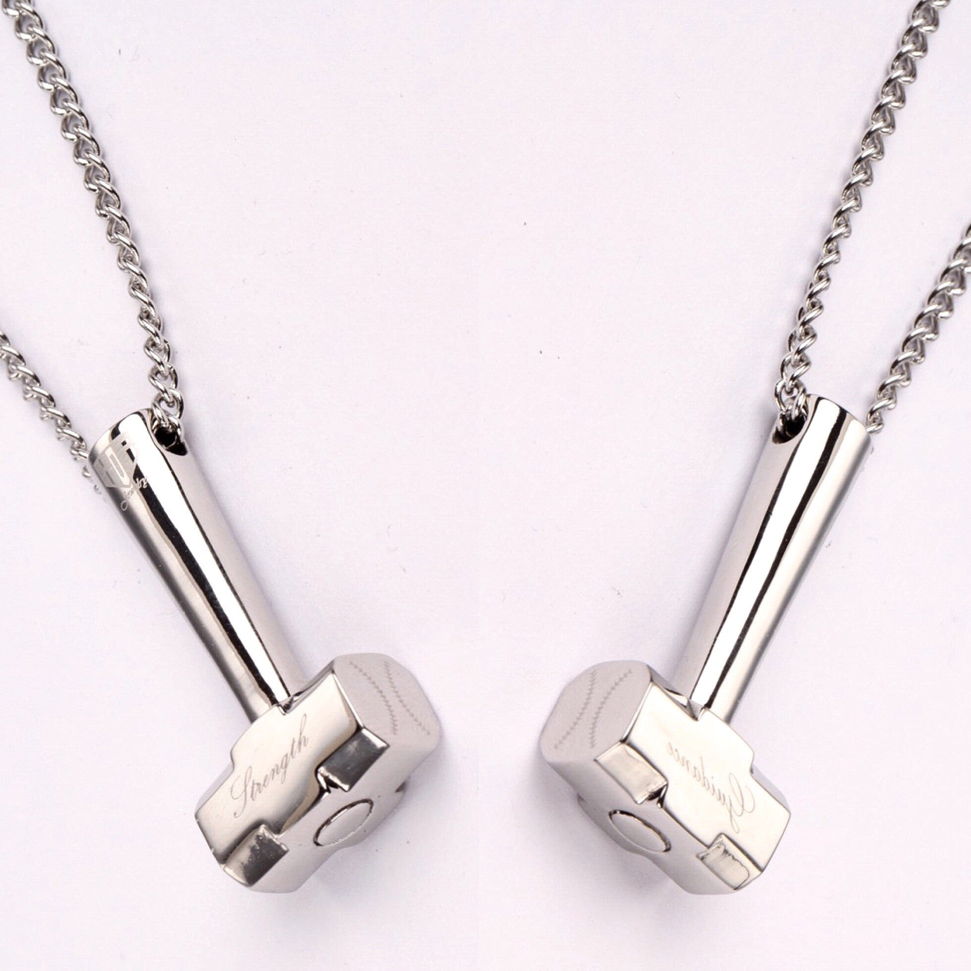 **NEW** Stainless Hammer Pendant with Chain (FREE SHIPPING)