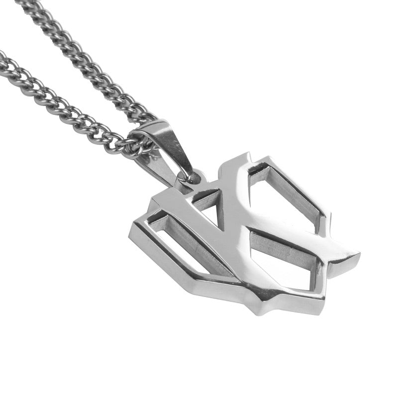 Stainless Strikeout Pendant with Necklace (FREE SHIPPING)