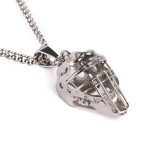 Stainless Catcher Mask with Necklace (FREE SHIPPING)
