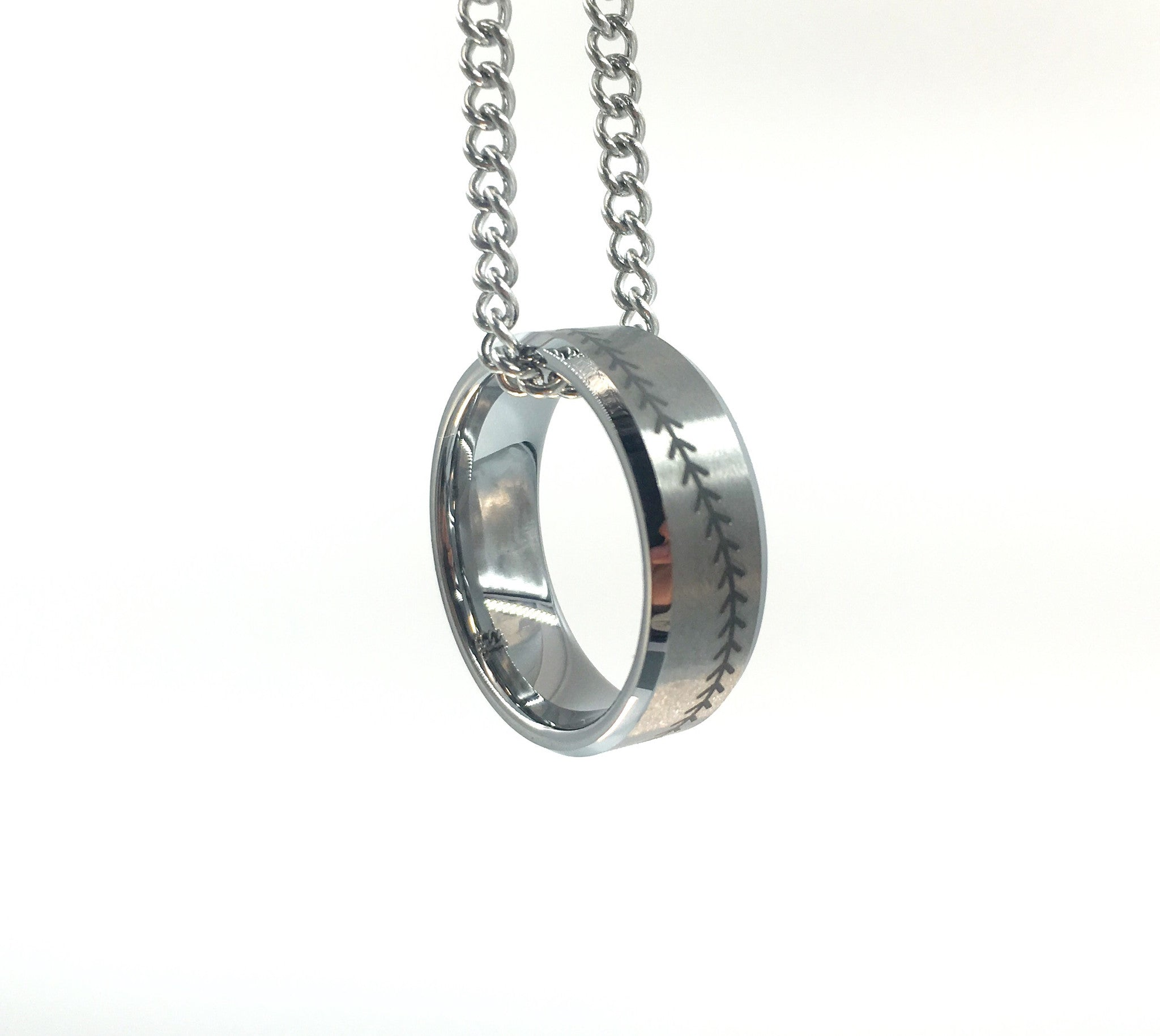 image pendant stitching with products ring baseball free tungsten silver shipping hof