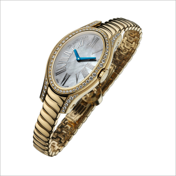 18K GOLD & DIAMOND WATCH