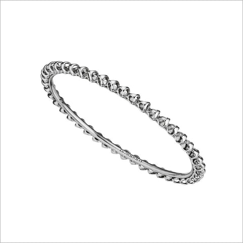 Icona Sterling Silver Stackable Bangle