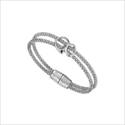 Linked By Love Sterling Silver Bracelet