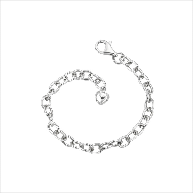 Icona Sterling Silver Chain Bracelet