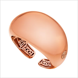 Sahara Cuff in Sterling Silver plated with 18k Rose Gold