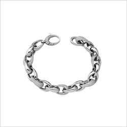 Tempia 18K White Gold & Diamond Bracelet