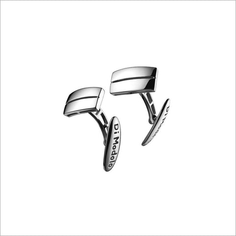 Men's Falco 18K White Gold Cufflinks