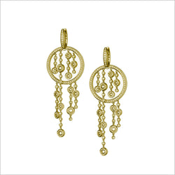 Tempia 18K Yellow Gold & Diamond Earrings