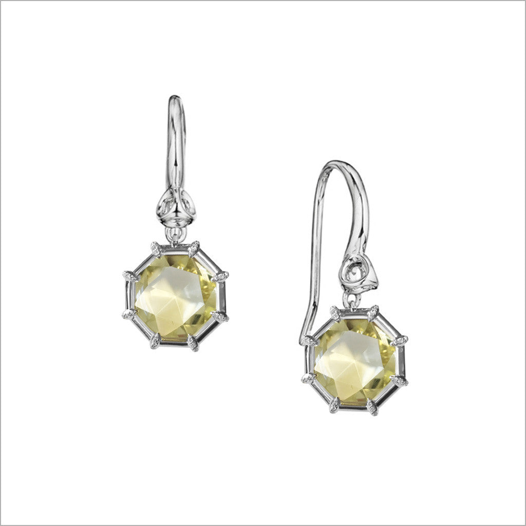 swarovski lemon drop crystal silver jewelry media sterling spring yellow bridal citrine wedding earrings bridesmaid