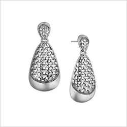 Ricamo Sterling Silver Earrings