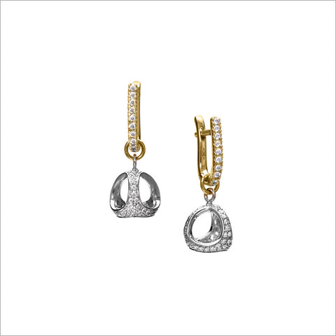 Icona 18k Gold & Diamond Earrings