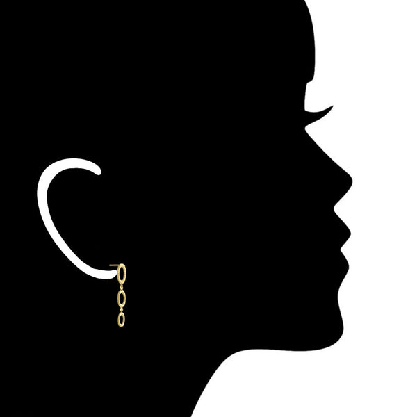 Allegra 18K Gold Earrings