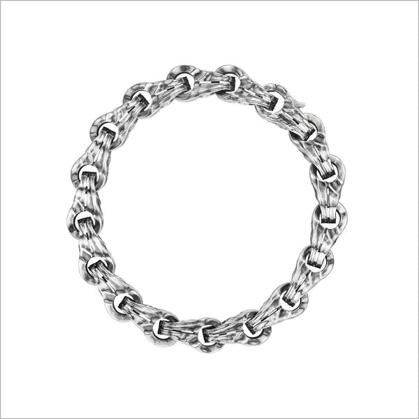 Men's Centauro Sterling Silver Chain Bracelet