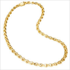 Men's Falco 18K Yellow Gold Chain Necklace