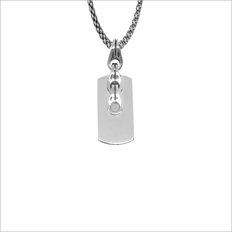 Men's Centauro Sterling Silver Pendant with Chain