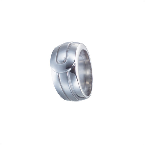 Men's Falco 18K White Gold Ring