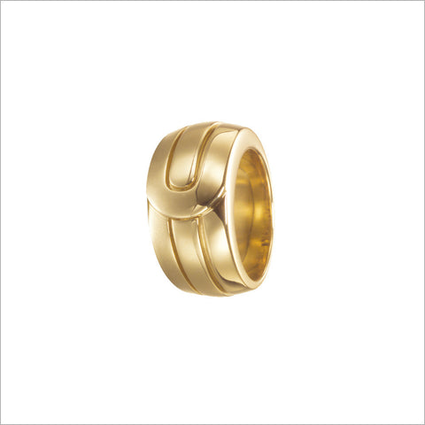 Men's Falco 18K Yellow Gold Ring
