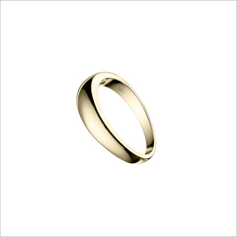 Men's 18K Gold Wedding Band