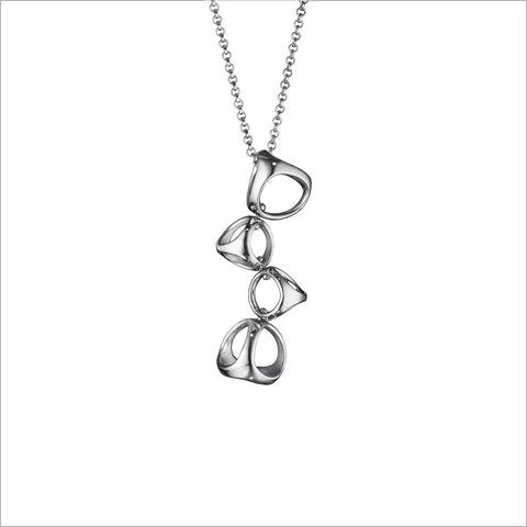 Icona 4-Cage Sterling Silver Necklace