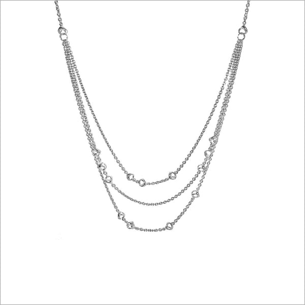 Icona Sterling Silver Drape Necklace