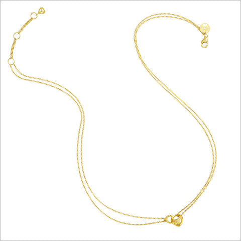 Linked By Love 18K Gold & Diamond Necklace