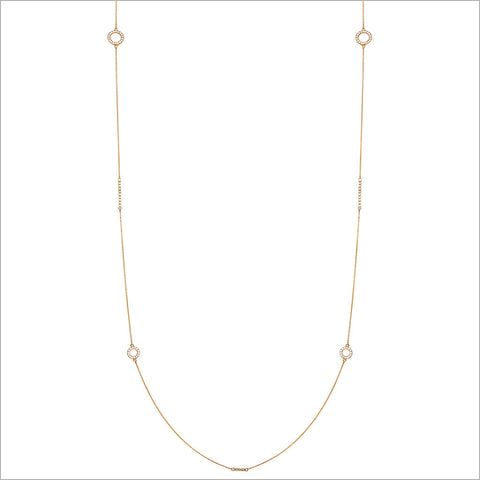 "Eterno 18K Yellow Gold & Diamond 42"" Necklace"