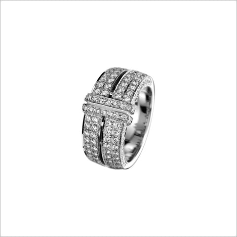 Quadria 18K Gold & Diamond Ring