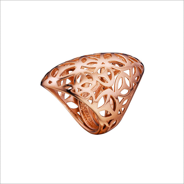 Sahara Ring in Sterling Silver plated with 18k Rose Gold