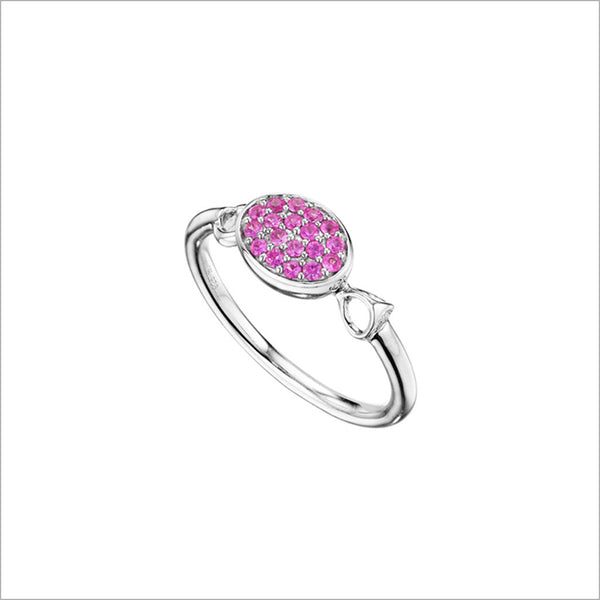 Lolita Pink Sapphire & Sterling Silver Ring