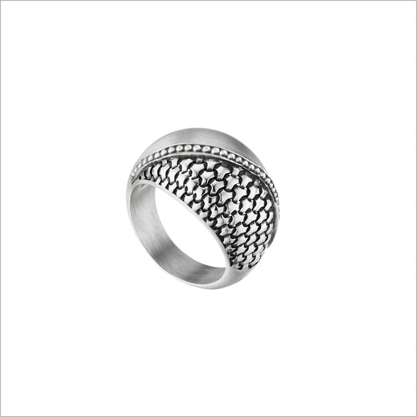 Ricamo Ring in Sterling Silver