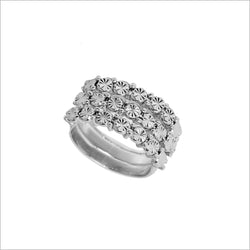 Diamanté Silver Ring