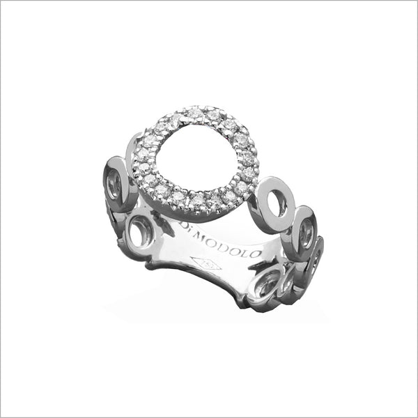 Eterno 18k Gold & Diamond Ring