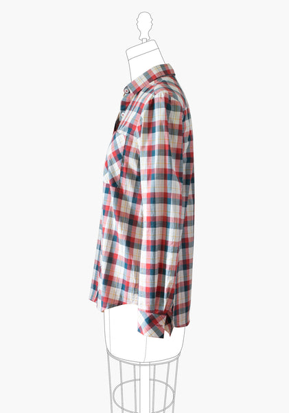 Archer Button Up Shirt (Print)
