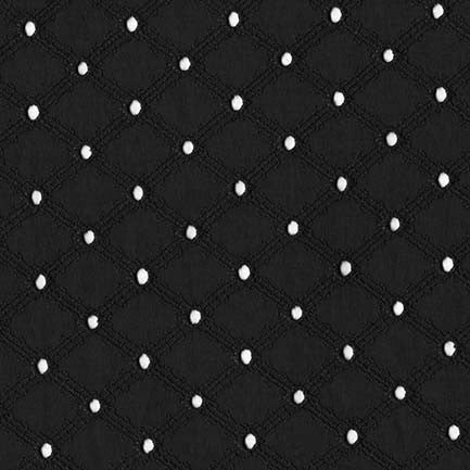 Embroider Eyelet in Black