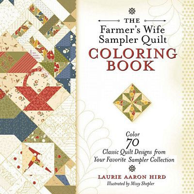 The Farmer's Wife Sampler Quilt Coloring Book